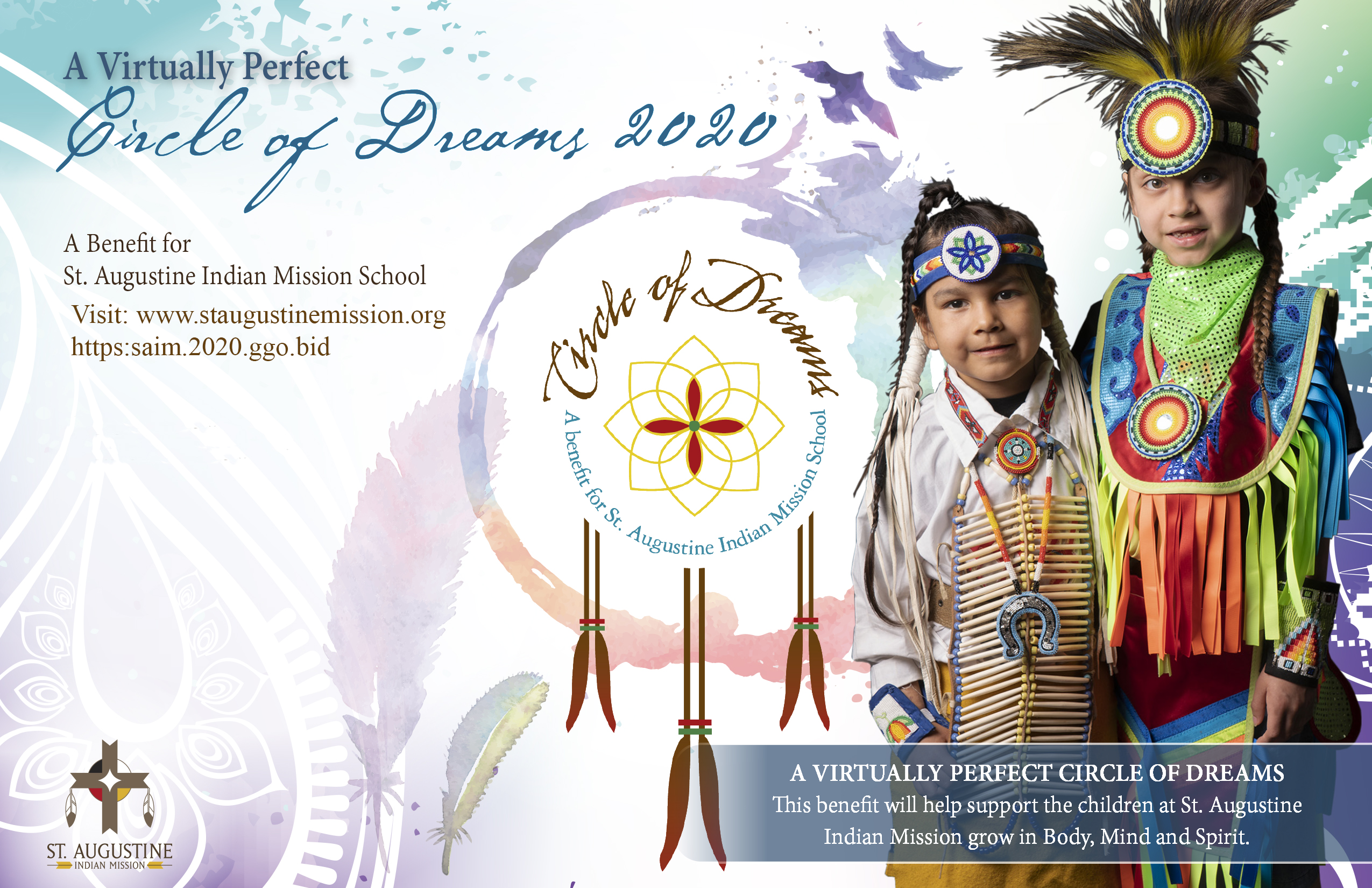 Circle of Dreams invite front small